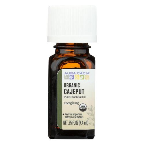 Aura Cacia Essential Oil - Cajeput - Case Of 1 - .25 Fl Oz.