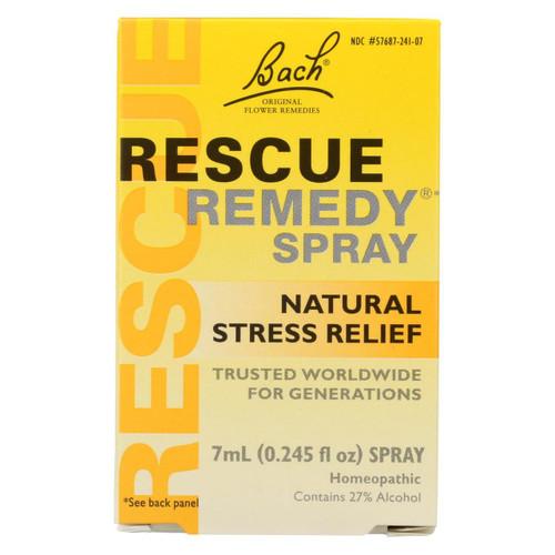 Bach Flower Remedies Rescue Remedy Spray - 0.245 Fl Oz