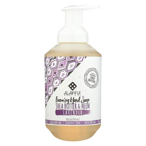 Alaffia - Everyday Foaming Hand Soap - Lavender - 18 Fl Oz.