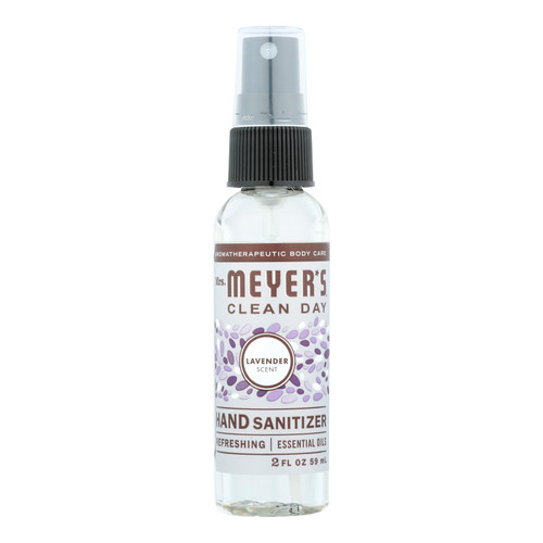 Mrs. Meyer's Clean Day - Hand Sanitizer - Lavender - Case Of 12 - 2 Fl Oz.