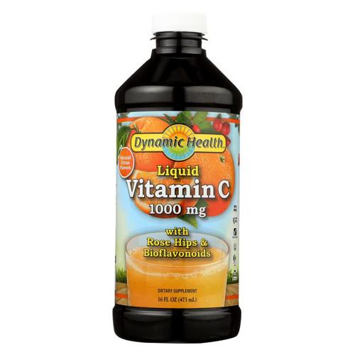 Dynamic Health Liquid Vitamin C Natural Citrus - 1000 Mg - 16 Fl Oz