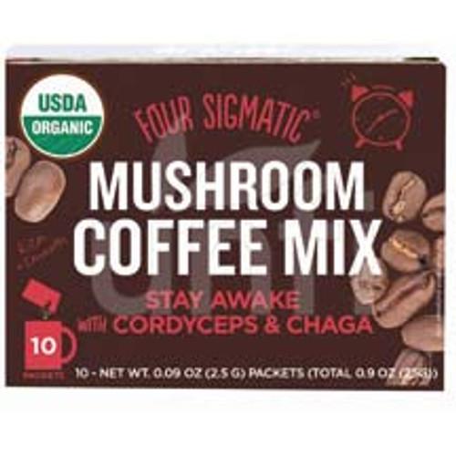 Four Sigmatic - Mushroom Coffee - Cordycep And Chaga - 10 Ct
