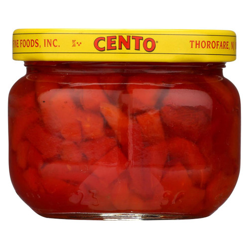 Cento - Sweet Pimientos - Case Of 12 - 4 Oz. - 0470823
