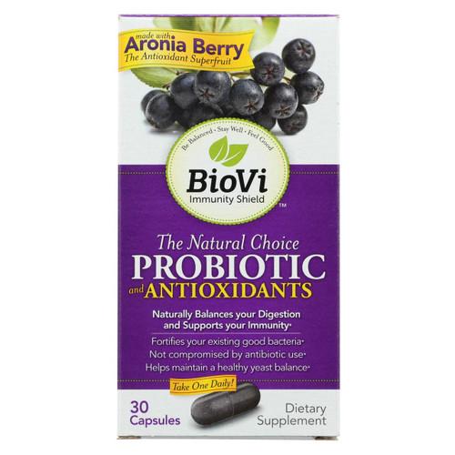 Biovi Probiotic - Antioxidant Blend - 30 Capsules