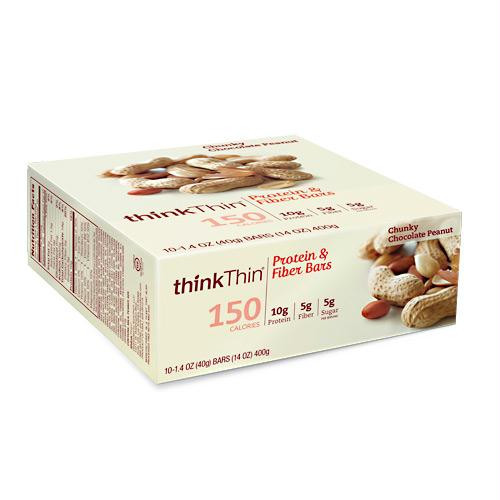 Think Products Think Thin Lean Chunky Chocolate Peanut - Gluten Free