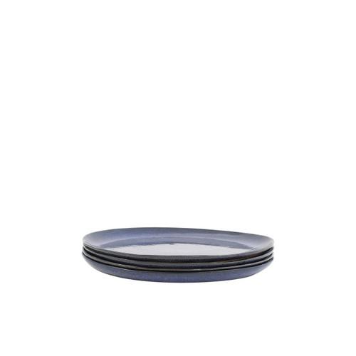 Bambeco Farmstead Stoneware Indigo Salad Plate - Case Of 4 - 4 Count