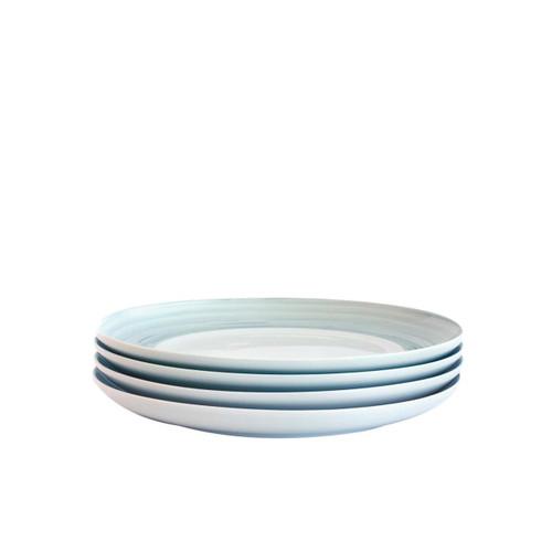 Bambeco Dakota Mist Porcelain Salad Plate - Case Of 4 - 4 Count