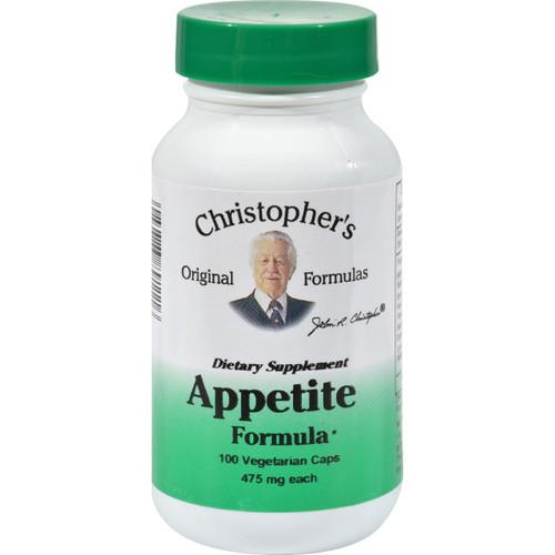 Dr. Christopher's Appetite Formula - 475 Mg - 100 Vegetarian Capsules