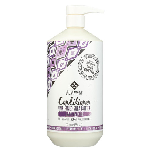 Alaffia - Conditioner - Shea Lavender - 32 Oz.