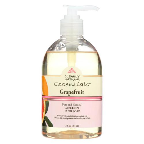 Clearly Natural Liquid Hand Soap Pump Grapefruit - 12 Fl Oz