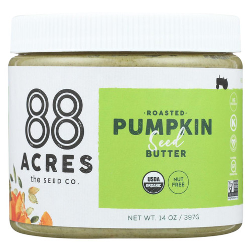 88 Acres - Seed Butter - Pumpkin - Case Of 6 - 14 Oz.