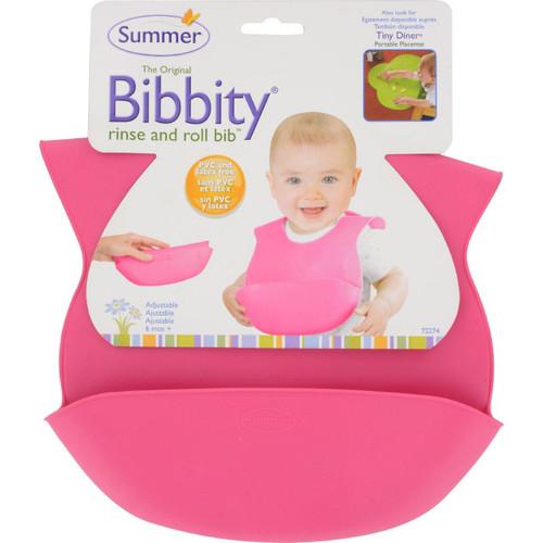 Bornfree - Bibbity Bib - Pink - 1 Ct