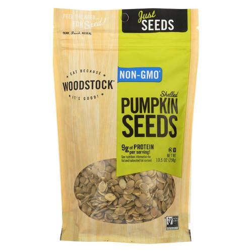 Woodstock Pumpkin Seeds - Case Of 8 - 10.5 Oz