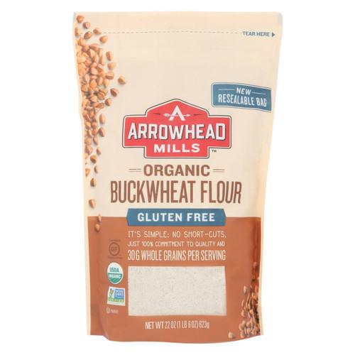 Arrowhead Mills - Organic Bukwheat Flour - Gluten Free - Case Of 6 - 22 Oz.