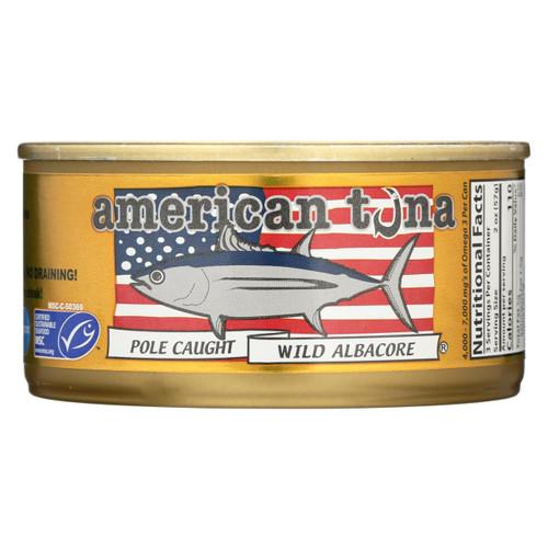 American Tuna - Canned Tuna - Salt - Case Of 24 - 6 Oz