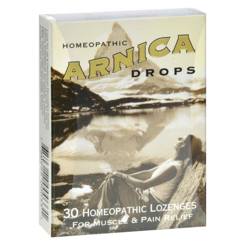 Historical Remedies Homeopathic Arnica Drops Repair And Relief Lozenges - Case Of 12 - 30 Lozenges - 0238980