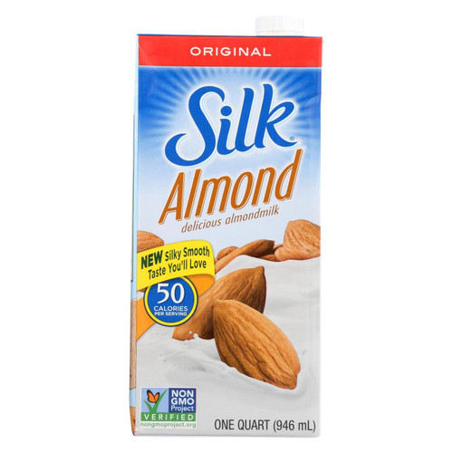Silk Pure Almond Milk - Original - Case Of 6 - 32 Fl Oz.
