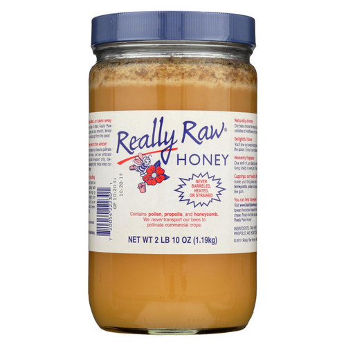 Really Raw Honey - Unheated, Unstrained - 1 Each - 42 Oz.