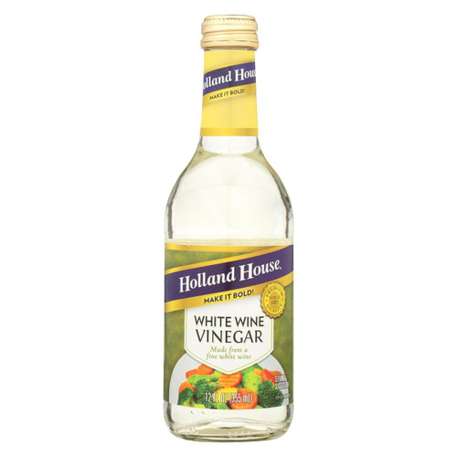 Holland House Holland House White Wine Vinegar - Vinegar - Case Of 6 - 12 Fl Oz.
