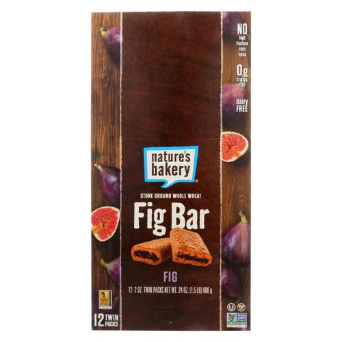 Nature's Bakery Stone Ground Whole Wheat Fig Bar - Original - Case Of 12 - 2 Oz.