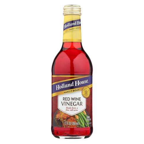 Holland House Holland House Red Wine Vinegar - Vinegar - Case Of 6 - 12 Fl Oz.