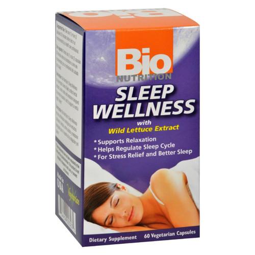 Bio Nutrition - Sleep Wellness - 60 Vcaps