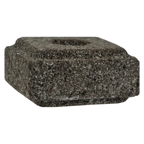 Aloha Bay - Taper Candle Holder Lava Stone - 1 Candle Holder