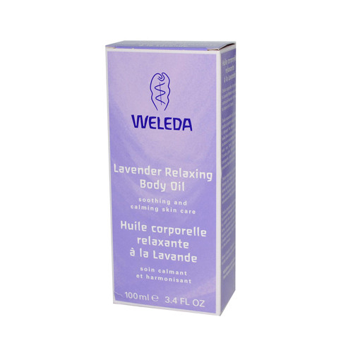 Weleda Relaxing Body Oil Lavender - 3.4 Fl Oz