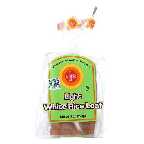 Ener-g Foods - Loaf - Light - White Rice - 8 Oz - Case Of 6