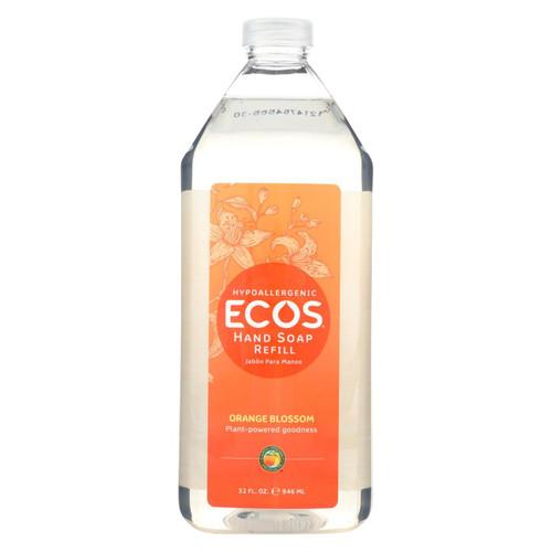 Earth Friendly Hand Soap - Ecos - Orange Blossom- Refill - Case Of 6 - 32 Fl Oz