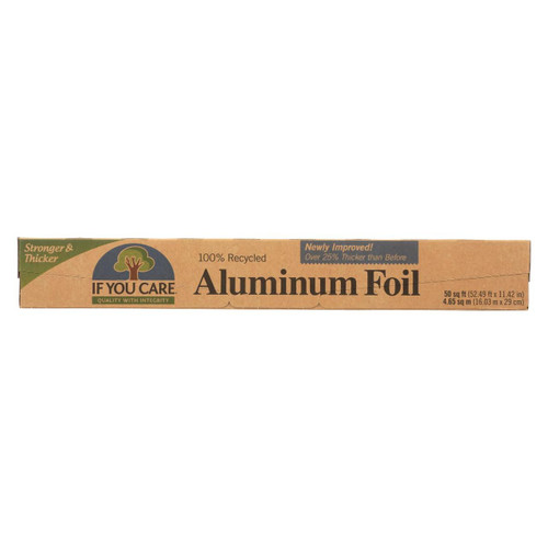 If You Care Aluminum Foil - Recycled - Case Of 12 - 50 Sq. Ft.