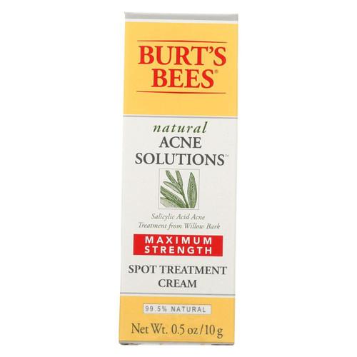 Burts Bees - Crm Acne Max Str Trtmt - 0.5 Oz