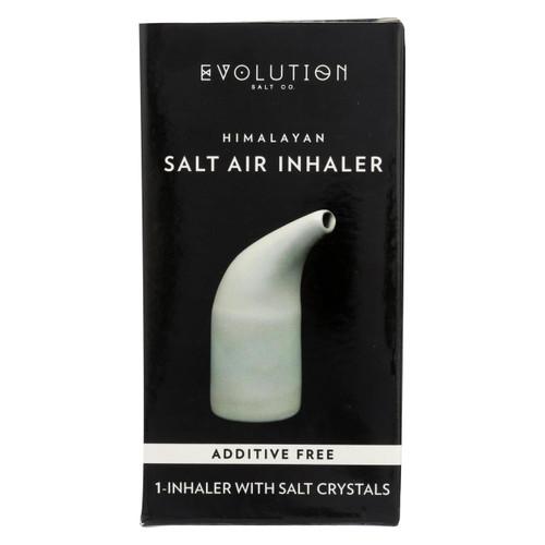 Evolution Salt Inhaler - Ceramic - Crystal Salt - 1 Count