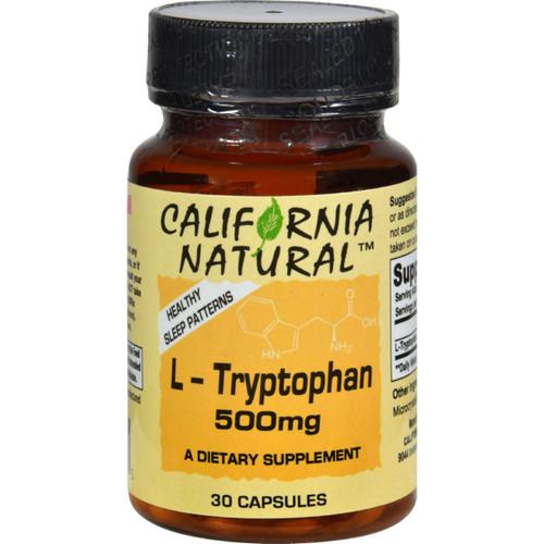 California Natural L-tryptophan - 500 Mg - 30 Capsules