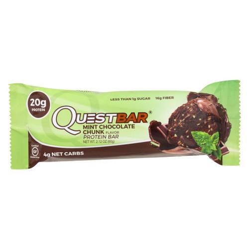 Quest Bar - Mint Chocolate Chunk - 2.12 Oz - Case Of 12