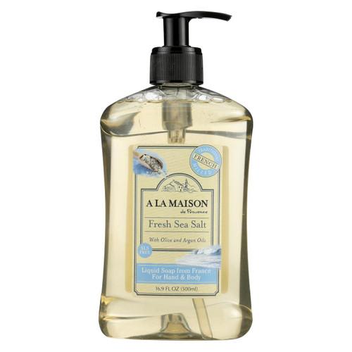 A La Maison - French Liquid Soap - Fresh Sea Salt - 16.9 Oz