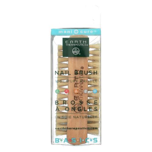 Earth Therapeutics Professional Nail Brush 100% Pure Bristle - 1 Brush