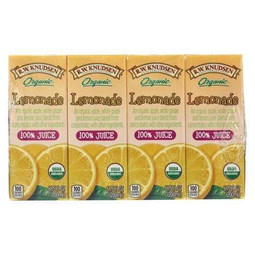 R.w. Knudsen - Juice Box - Organic Lemonade - Case Of 7 - 6.75 Fl Oz.