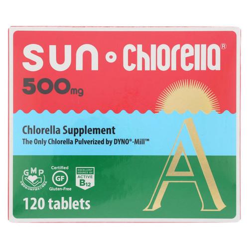 Sun Chlorella A Tablets - 500 Mg - 120 Tablets