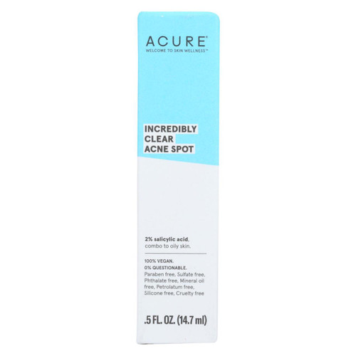 Acure - Spot Treatment - Acne - .5 Fl Oz