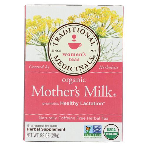 Traditional Medicinals Organic Mother's Milk Tea - Caffeine Free - 16 Bags