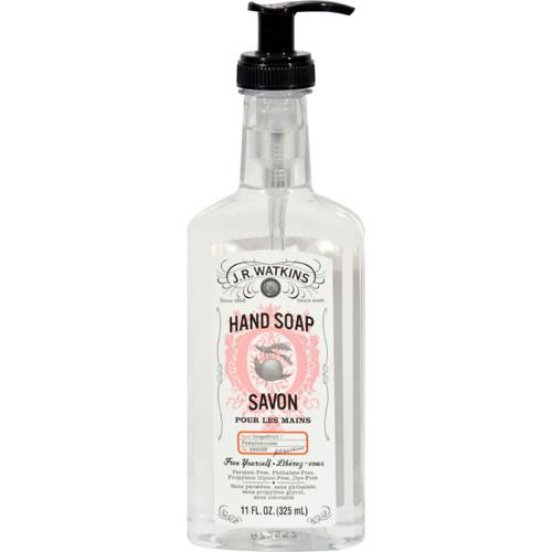 J.r. Watkins Liquid Hand Soap - Grapefruit - 11 Oz