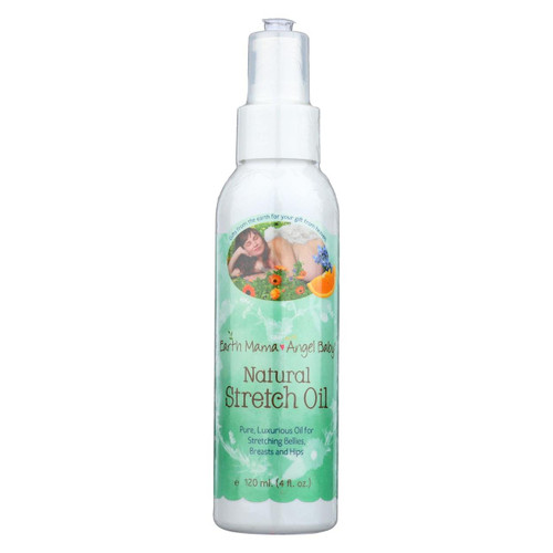 Earth Mama Angel Baby Natural Stretch Oil - 4 Fl Oz