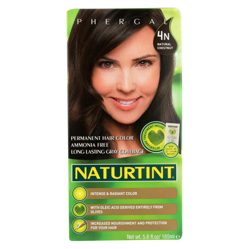 Naturtint Hair Color - Permanent - 4n - Natural Chestnut - 5.28 Oz