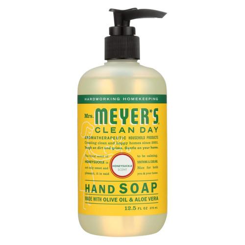 Mrs. Meyer's Clean Day - Liquid Hand Soap - Honeysuckle - Case Of 6 - 12.5 Oz