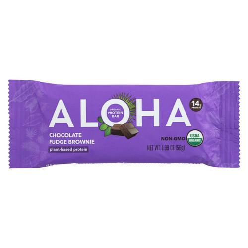Aloha (bars)  Chocolate Fudge Brownie - Case Of 12 - 1.9 Oz