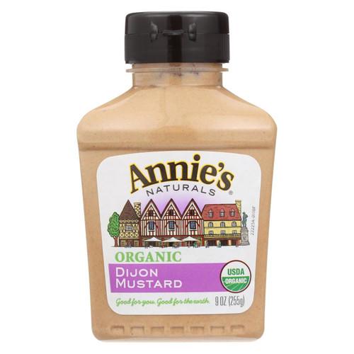 Annie's Naturals Organic Dijon Mustard - Case Of 12 - 9 Oz.