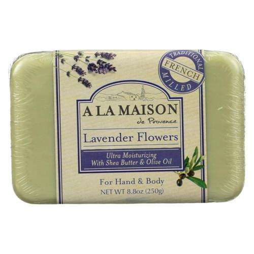 A La Maison - Bar Soap - Lavender Flowers - 8.8 Oz