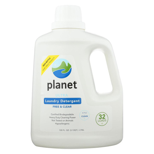 Planet Ultra Powdered Laundry Detergent - Case Of 4 - 100 Fl Oz.