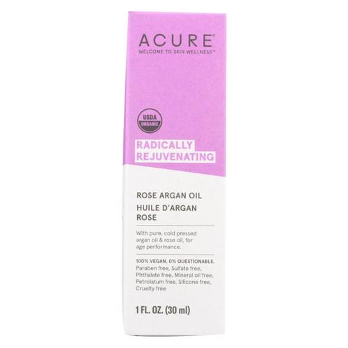 Acure - Argan Oil - Radically Rejuvenating Rose - 1 Fl Oz